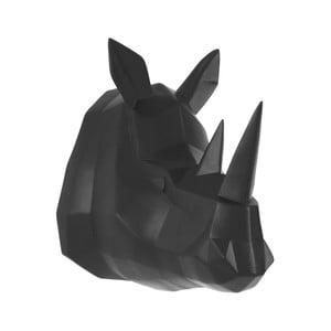 Matne čierny nástenný vešiak PT LIVING Origami Rhino