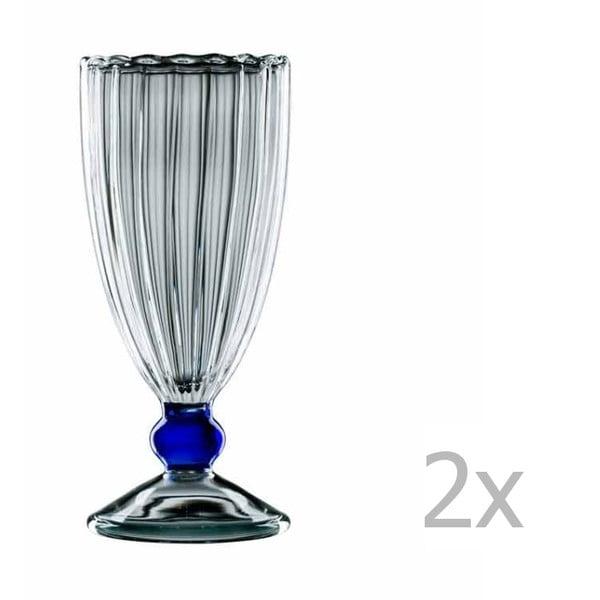 Sada 2 sklenených pohárov bloomix Alessia