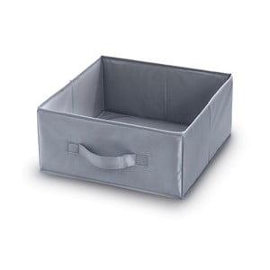 Sivý úložný box Domopak Living