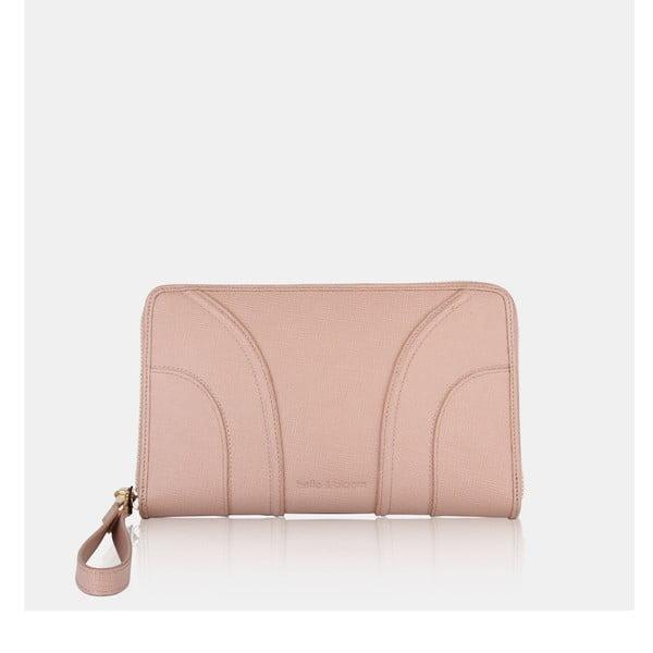 Cestovná peňaženka Claudia Taupe