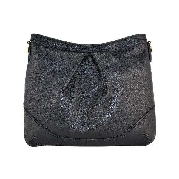 Kožená listová kabelka Maltisa Nero
