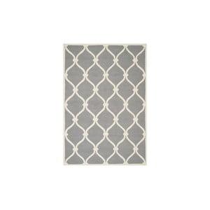 Vlnený koberec Hugo 152x243 cm, sivý