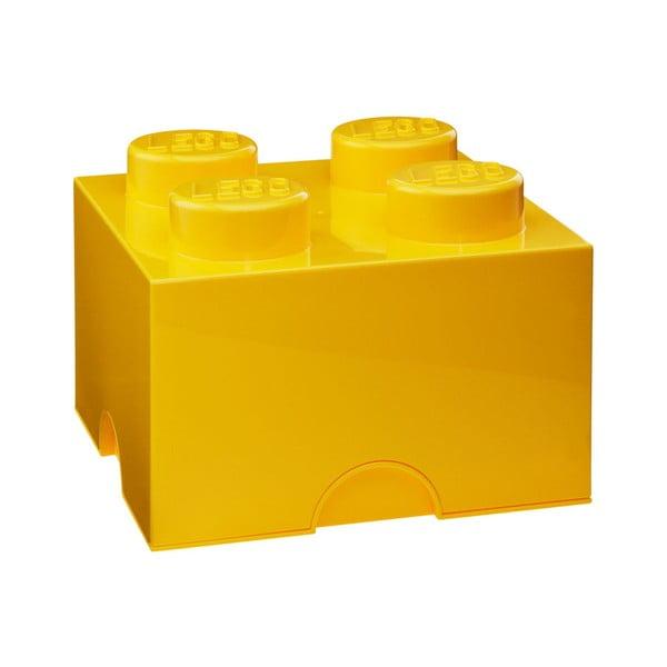 Žltá úložná kocka LEGO®
