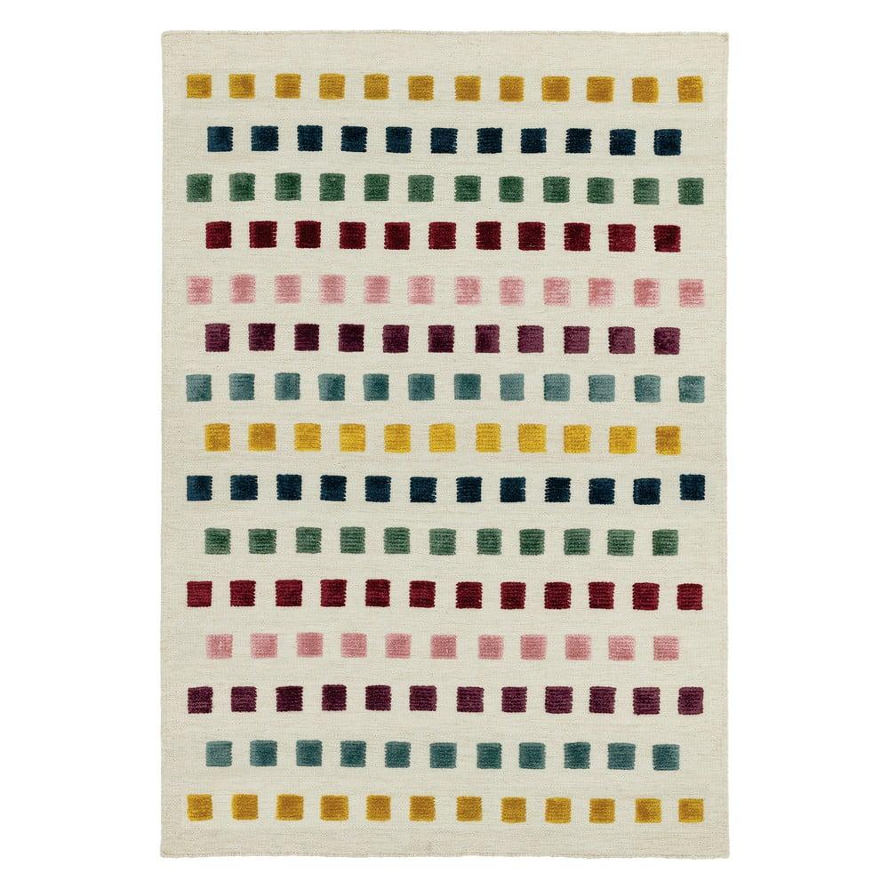 Koberec Asiatic Carpets Theo Jewel Squares, 120 x 170 cm