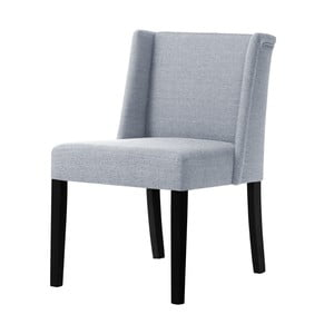 Sivá stolička s čiernymi nohami Ted Lapidus Maison Zeste