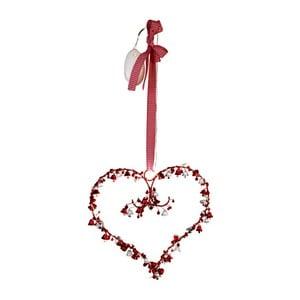 Svietiaca dekorácia Heart and Bells