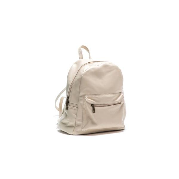 Kožený batoh Anna Luchini 2122 Beige