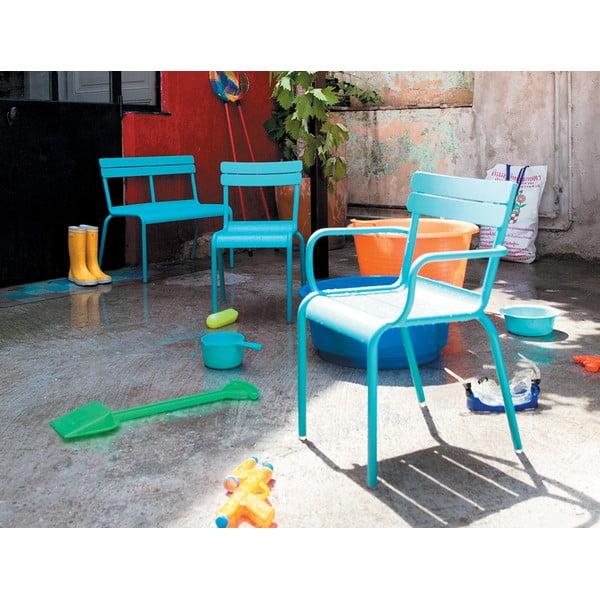 Tmavosivá detská stolička Fermob Luxembourg