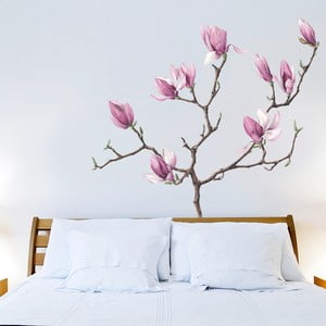Dekoratívna samolepka na stenu Magnolia