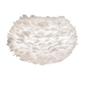 Biele tienidlo z husieho peria VITA Copenhagen EOS, Ø45cm
