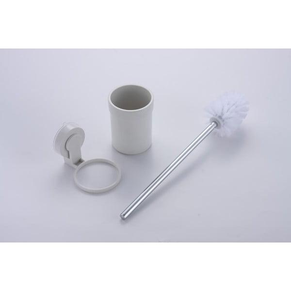 Nástenná WC kefa bez nutnosti vŕtania ZOSO Brush White