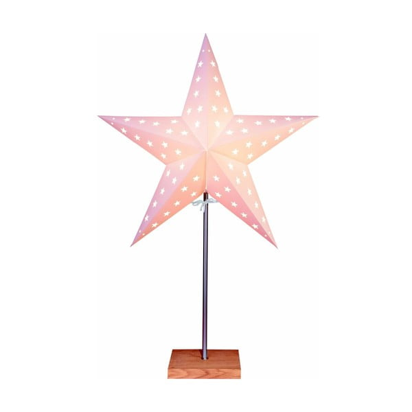 Svietiaca hviezda so stojanom Best Season Star On Base Oak