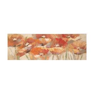 Ručne maľovaný obraz Mauro Ferretti Poppies, 150 x 50 cm