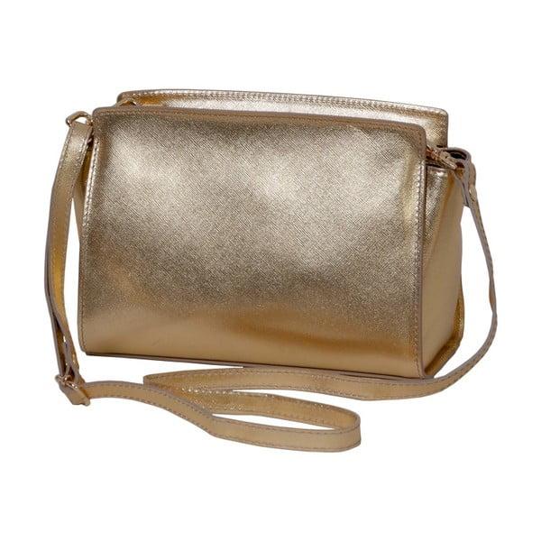 Zlatá kabelka z pravej kože Andrea Cardone Mattia