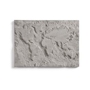 Betónový nástenný obraz Lyon Béton The Grey Planet