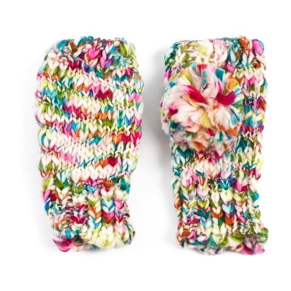 Pestrofarebné rukavice Zora