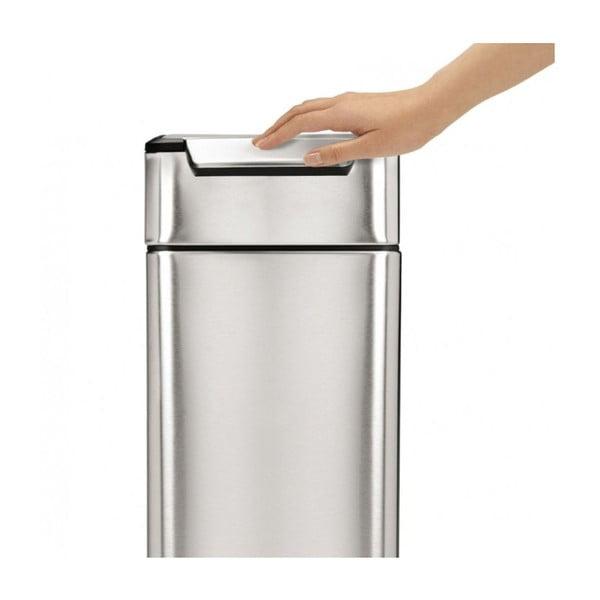Dotykový odpadkový kôš simplehuman Tight, 40 l