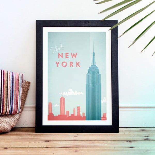 Plagát Travelposter New York, A3