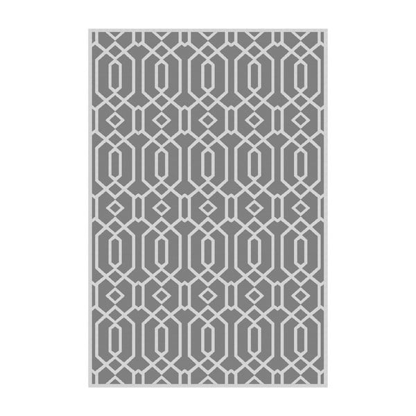 Vinylový koberec Rejilla Gris, 100x150 cm