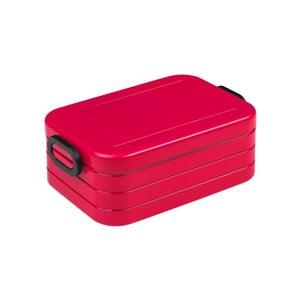 Červený box na obed Rosti Mepal Ellipse Take a Break Bento, 18,5 x 12 cm