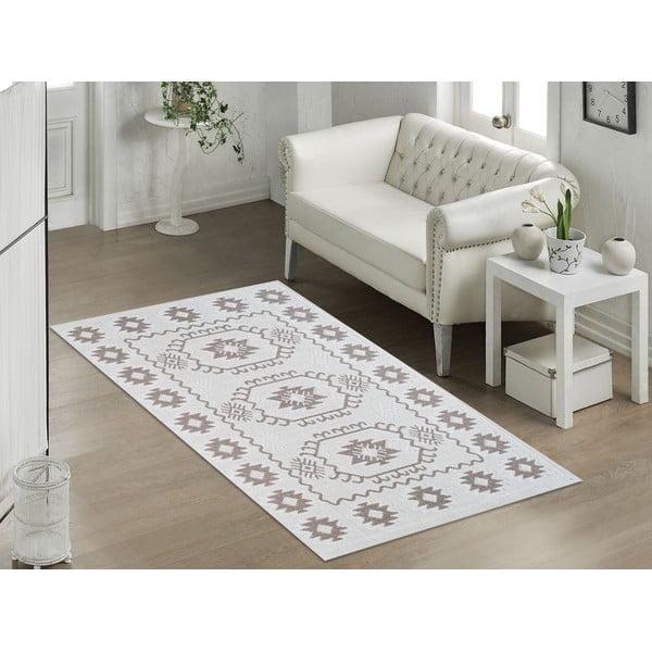 Béžový odolný koberec Vitaus Dahlia, 60x90cm