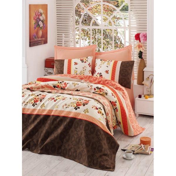 Sada prikrývky, plachty a obliečky na vankúš Love Colors Anna, 160 x 240 cm