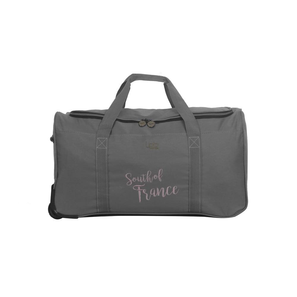Sivá cestovná taška LPB Mila, 61 l