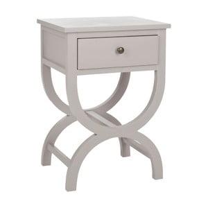 Nočný stolík Maxine, sivý