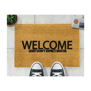 Rohožka Artsy Doormats Welcome Don't Expect Much, 40 × 60 cm
