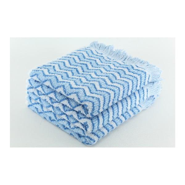 Sada 3 osušiek Lora Alaska Blue, 50x100 cm