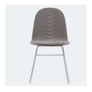 Stolička Mannequin V, sivá