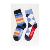 Dva páry ponožiek Funky Steps Krump, univerzálna veľkosť
