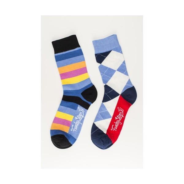 Sada 2 párov unisex ponožiek Funky Steps Krump, veľkosť 39/45
