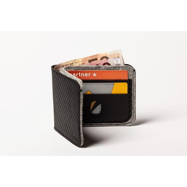 Pánska peňaženka z pravej kože Éstie, svetlo sivá