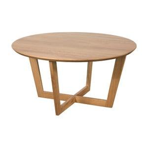 Konferenčný stolík z masívneho dubového dreva Dřevotvar Ontur 32