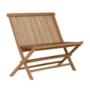 Záhradná lavica z teakového dreva SOB Lable