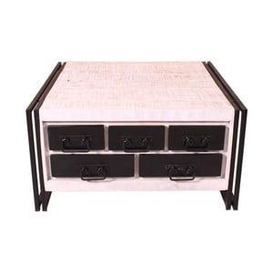 Konferenčný stolík z mangového dreva v tvare truhlice SOB Psylla