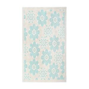 Modrý bavlnený koberec Floorist Randa, 120x180cm