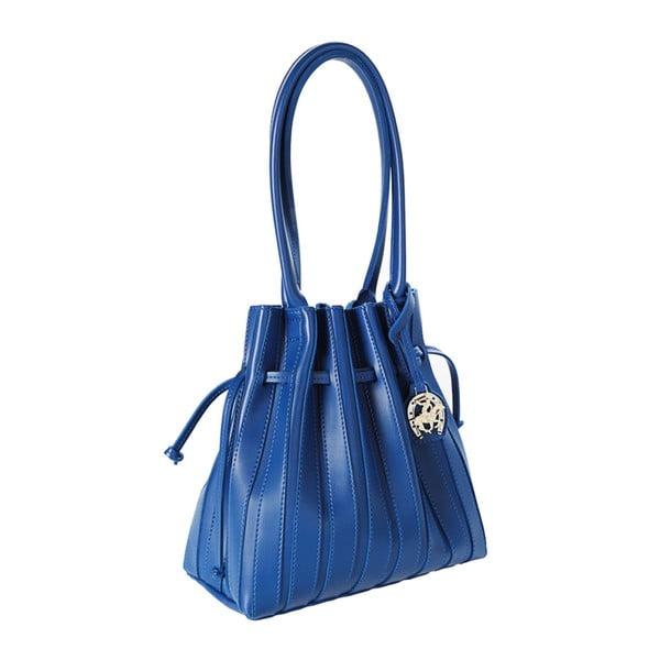 Modrá kabelka z eko kože Beverly Hills Polo Club Hannah