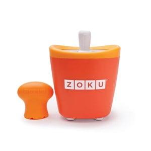 Oranžový zmrzlinovač Zoku Single