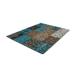 Zeleno-sivý koberec z bavlny Cotex Colorado, 140 × 200 cm