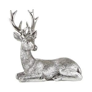 Dekoratívna soška v tvare jeleňa KJ Collection, 14 cm