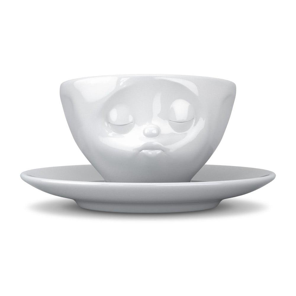 Biely bozkávajúci hrnček na kávu 58 products
