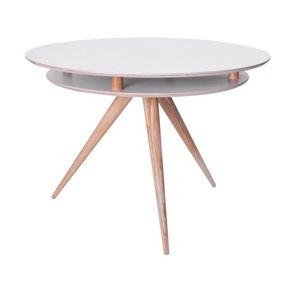 Biely jedálenský stôl Ragaba Triad