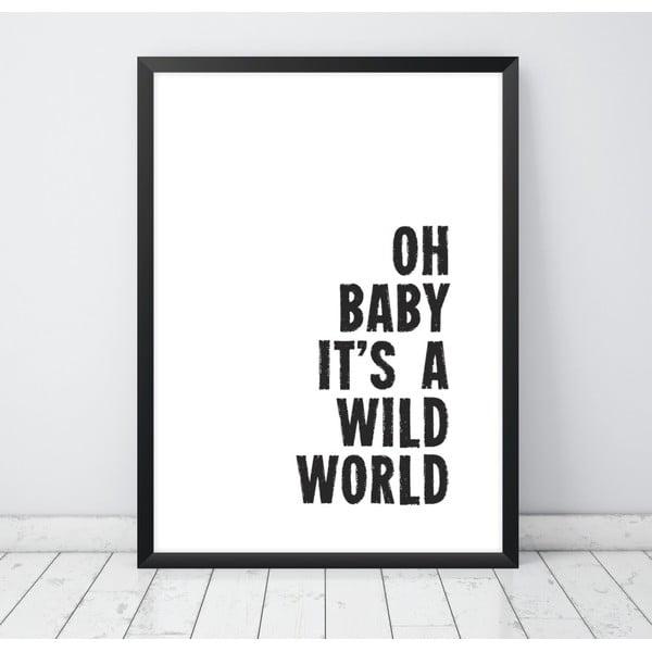 Plagát Nord & Co Baby, 30 x 40 cm