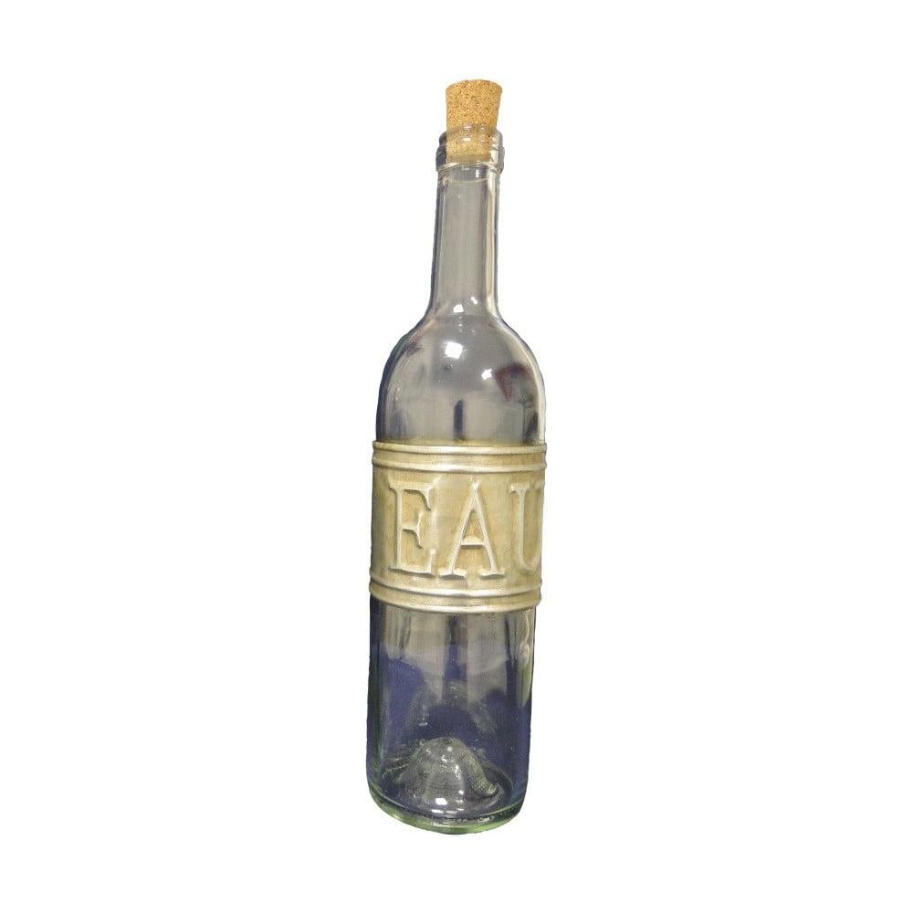 Sklenená fľaša na vodu Antic Line