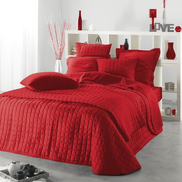 Prikrývka na posteľ Venus Rouge, 220x240 cm