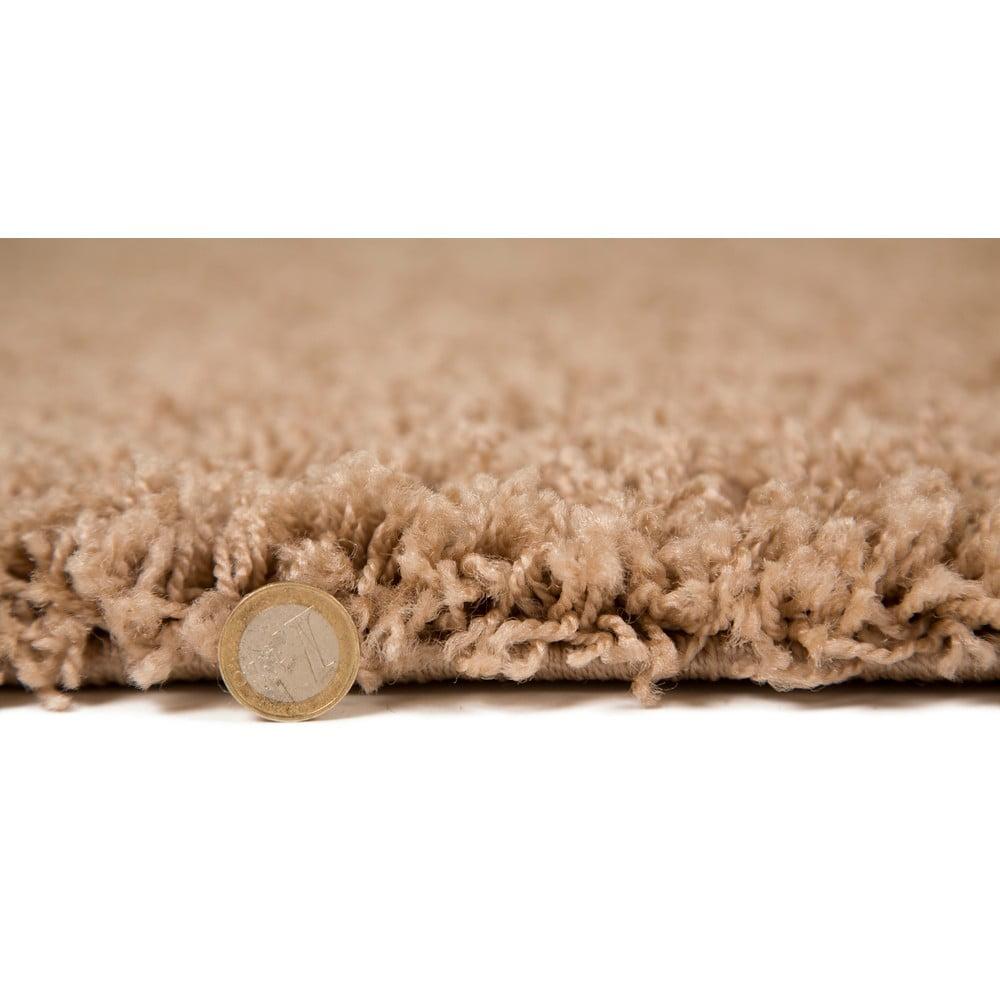 Béžový koberec Flair Rugs Cariboo Beige, 120×170 cm Aj keď pôvodne plnil koberec predovšetkým izolačnú funkciu, postupom času získal na popularite a stala sa z neho jedna z hlavných dekorácií, ktorá pomáha vykúzliť osobitý a príjemný interiér.  Jeho úloha je veľmi dôležitá, a tak rozhodne siahnite po tomto kúsku, ktorý je kvalitne spracovaný, navrhnutý v trendy farbách a vzoroch a rozhodne mu to u vás doma pristane.
