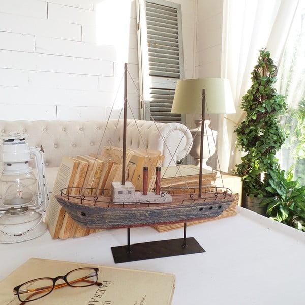 Dekorácia Vintage Boat