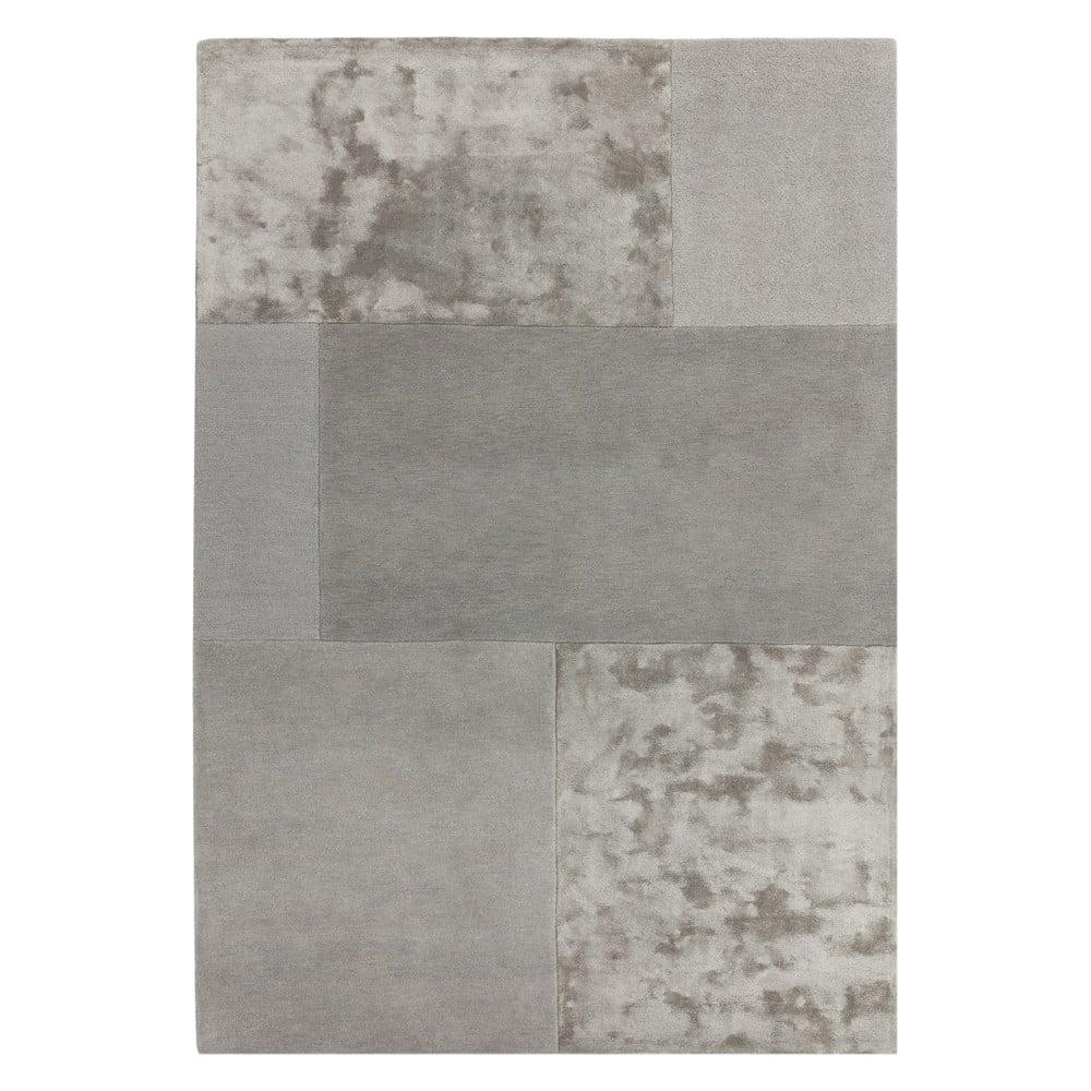 Sivý koberec Asiatic Carpets Tate Tonal Textures, 120 x 170 cm